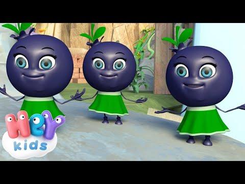 Лучшие детские песни - Ягодки сестрички - Развивающий мультик