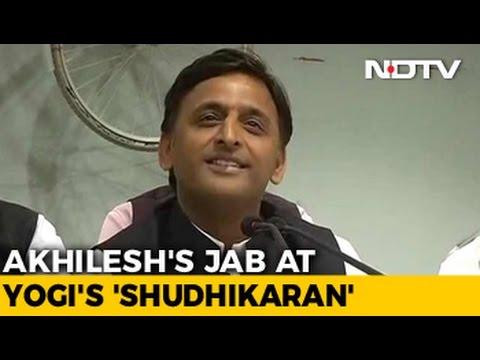 'A Year Older But...': Akhilesh Yadav's Comeback To Adityanath Jab