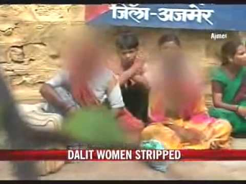 Dalit women stripped naked