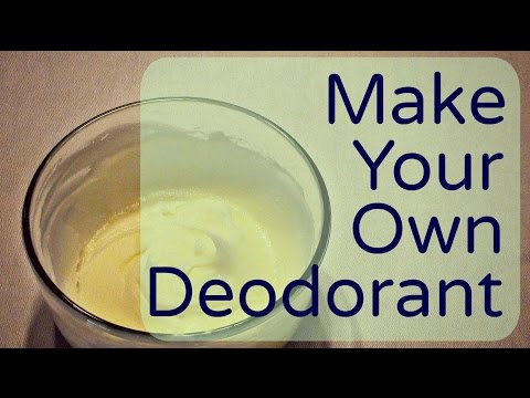 Natural Deodorant: How To Make Your Own Homemade Deodorant (Effective. Easy and Cheap!)