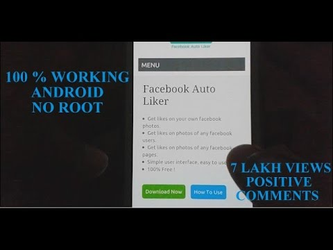 How to auto like facebook photo :100% verified android app