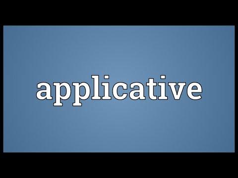 Header of applicative