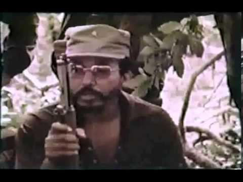 Misa Guerrillera, Nicaragua 1978, Padre Ernesto Cardenal.2.flv