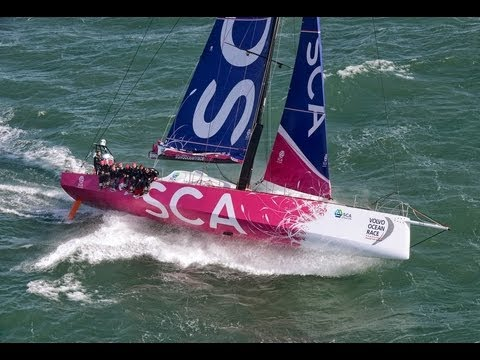 Volvo Ocean 65 Unleashed | Volvo Ocean Race 2014-15 - YouTube