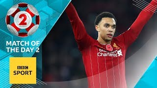 Alexander-Arnold's passing up there with Gerrard & Alonso - Peter Crouch | MOTD2
