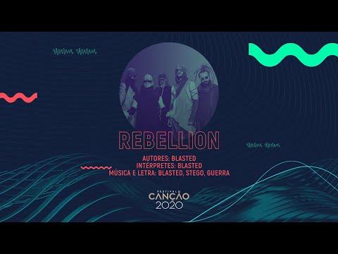 Blasted - Rebellion (Lyric Video) | Festival da Canção 2020