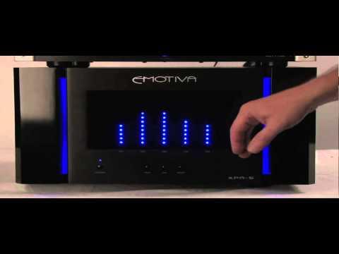 XPR-5 Meter Demo   Emotiva Audio