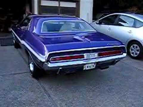 1970 426 Hemi Plum Crazy RT Mopar Dodge Video