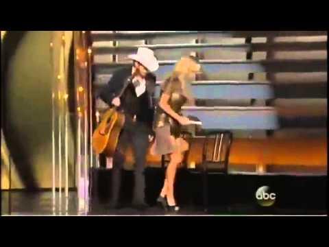 Carrie Underwood & Brad Paisley Mock Obamacare
