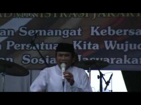 TABLIGH DI TENGAH HUJAN RHOMA IRAMA; Ceramah di PAMMI Jakarta Utara