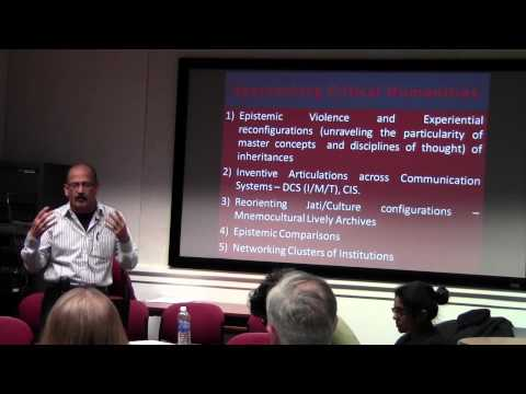 Teaching and Research from the Indian Context - Professor Venkat Rao