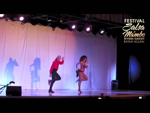 Ataca & La Alemana - Riviera Nayarit Salsa & Mambo Festival 2013