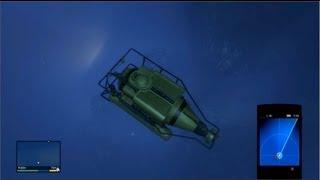 Gameplay GTA 5 Подводный мир, спускаемся на дно | Прохождение