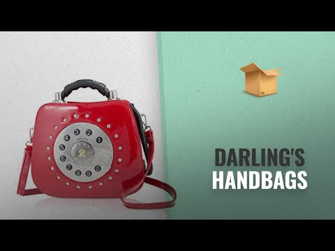 Top 10 Darling's Handbags [2018 Best Sellers]: Darling'S Telephone Fashion Design Handbag Shoulder