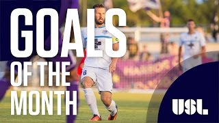 USL Goals of the Month- July, 2016