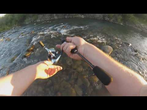 спиннинг для ловли форели в карпатах