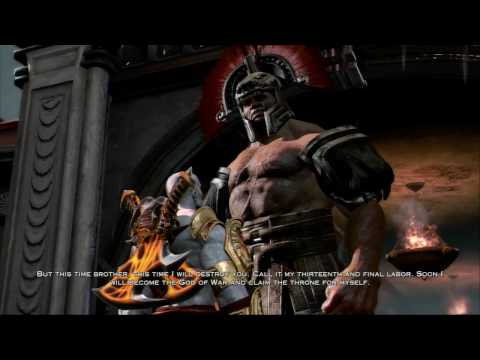 God Of War Iii - Boss #4: Hercules video