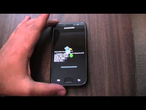Samsung Galaxy S - How to Flash a Super Fast Custom Android ROM
