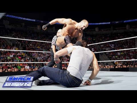 Dean Ambrose vs. Cesaro: SmackDown, August 15, 2014
