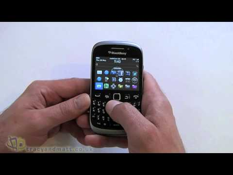 BlackBerry Curve 9320 hands-on demo video