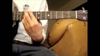 Hunter's Moon - Andy McKee - Practice Aid - Bridge - Fretting Hand