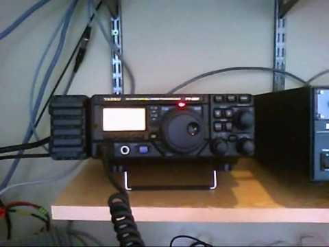 EC1CW/P with a PRC-320: Recorded in Belgium (ON4FB)