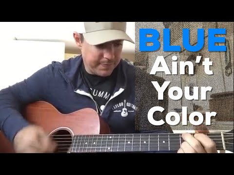 Blue Ain't Your Color | Keith Urban | Beginner Guitar Lesson