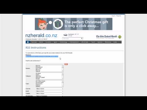 RSS Displayer - 123 Online Shift CMS Tutorial