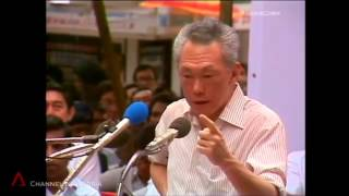 Lee Kuan Yew Talks About China And Deng