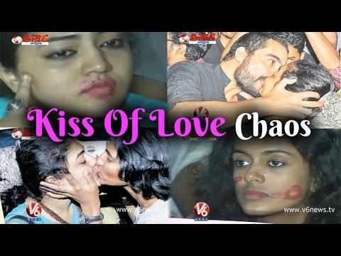 Kiss of Love ends in chaos - Marine Drive Kochi - Kerala
