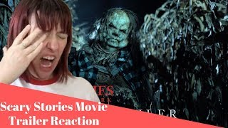 SCARY STORIES TO TELL IN THE DARK - Jangly Man Trailer - REACTION!