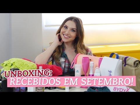 Unboxing: recebidos em Setembro!