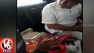 ACB Catches Adilabad Traffic CI Bhumaiah While Accepting Rs 10 Lakh