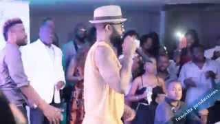 Fally Ipupa live performance in Los Angeles