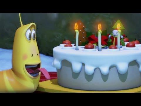 LARVA | bolo de Natal | NATAL🎄 2017 Filme completo | Dos desenhos animados | Cartoons Para Crianças