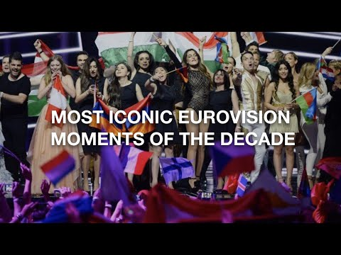 MOST ICONIC EUROVISION MOMENTS OF THE DECADE // 2010 TO 2019 PART 1