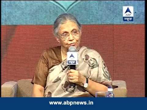 Delhi Chief Minister Sheila Dikshit on GhoshnaPatra