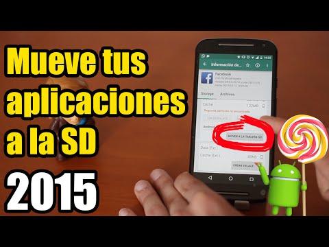 Cómo pasar las aplicaciones a la tarjeta SD con Link2SD. 2015 [ROOT]