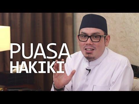 Ceramah Singkat: Puasa Hakiki - Ustadz Ahmad Zainuddin, Lc