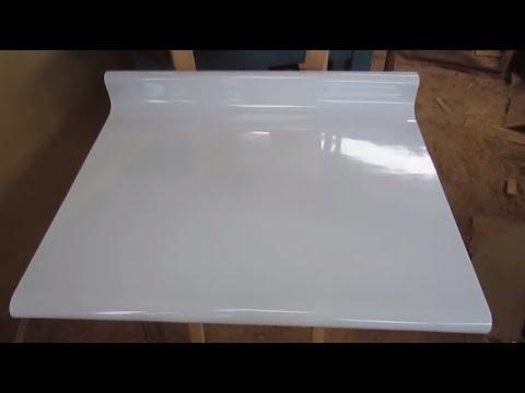 Como hacer un tablero postformado de forma casera facil youtube - Tableros de cocina ...