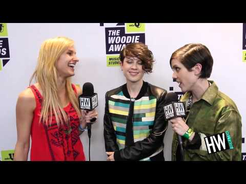 Tegan and Sara Talk 'Heartthrob' & Hosting mtvU Woodie Awards!
