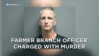 Farmers Branch police officer charged with murder in shooting death of Juan Moreno