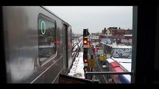R62a - 7 Train taking