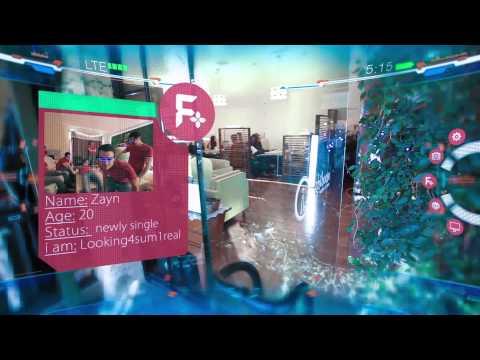 """Cafe Glass"" Official Trailer (Online Dating + Google Glass)"
