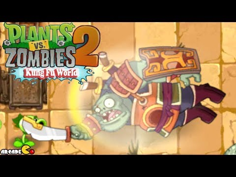 Plants Vs Zombies 2: Kung Fu World New UPDATE ( FINAL ZOMBOSS) Walkthrough Part 21 (China Version)