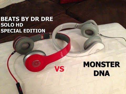 Beats Solo HD Special Edition vs Monster DNA