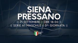 Serie A1M [3^]: Siena - Pressano 23-22