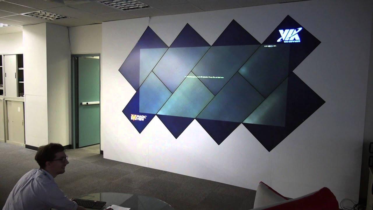 Big Screen Gaming on the VIA Video Wall YouTube