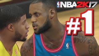 INTENSE FIRST GAME! | NBA 2K17 | MyTeam #1