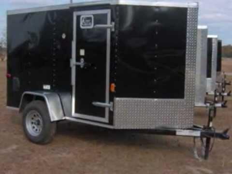 AllAmerican BargainTrailers - 5x10 Enclosed Utility ...